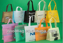 80gsm colorful non woven shopping tote bag guangzhou for promotion in China