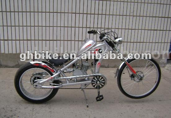 24 gasmotor motor bike chopper fahrrad fahrrad motor. Black Bedroom Furniture Sets. Home Design Ideas