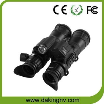 Tactical infrared night vision binocular for military use