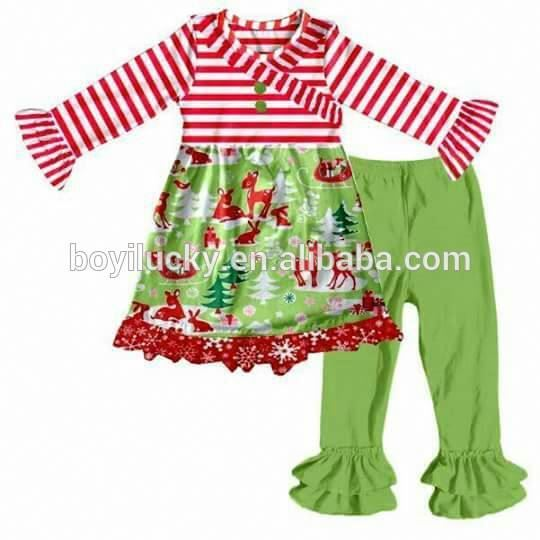 Hot Sale Stylish Girls Ruffle Boutique Clothing Children Outfit 2016 Fall  Baby Girls Giggle Moon Western Country Clothing Sets - Buy Fall Baby Girls