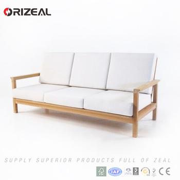 Luxury Modern Design Outdoor Wooden Furniture Simple Teak Wood