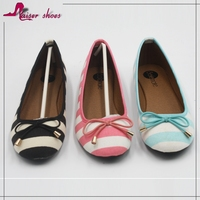 SSK16-119 strap print lady shoes,animal print lady flat shoes ,canvas print shoes