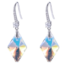 de933008c Add to Favorites. 96054 crystals from Swarovski, xuping ab color jewelry  alloy crystal gold 925 sterling silver color high quality fashion earring