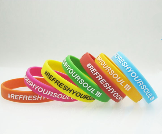 Factory direct sales cheap custom made silicone bracelet wristband
