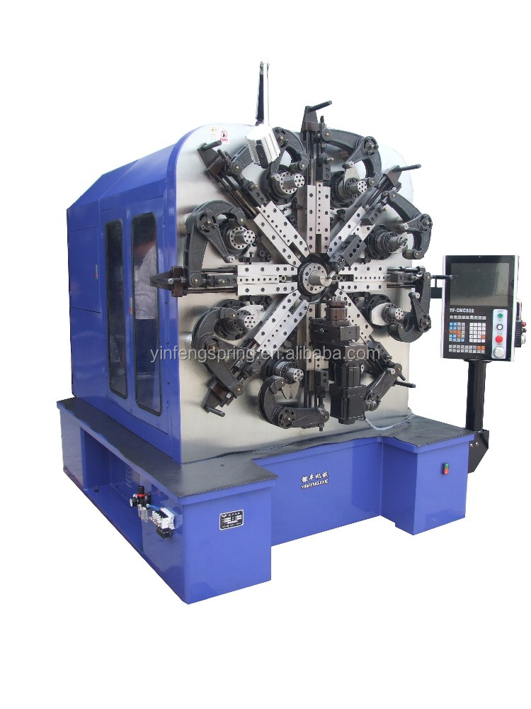 zhejiang CNC-YF8560 wire extension automatic used cnc spring coiling machine
