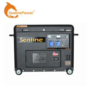 SE178F 3KW Panda Type Electric Starting Silent Diesel Generator
