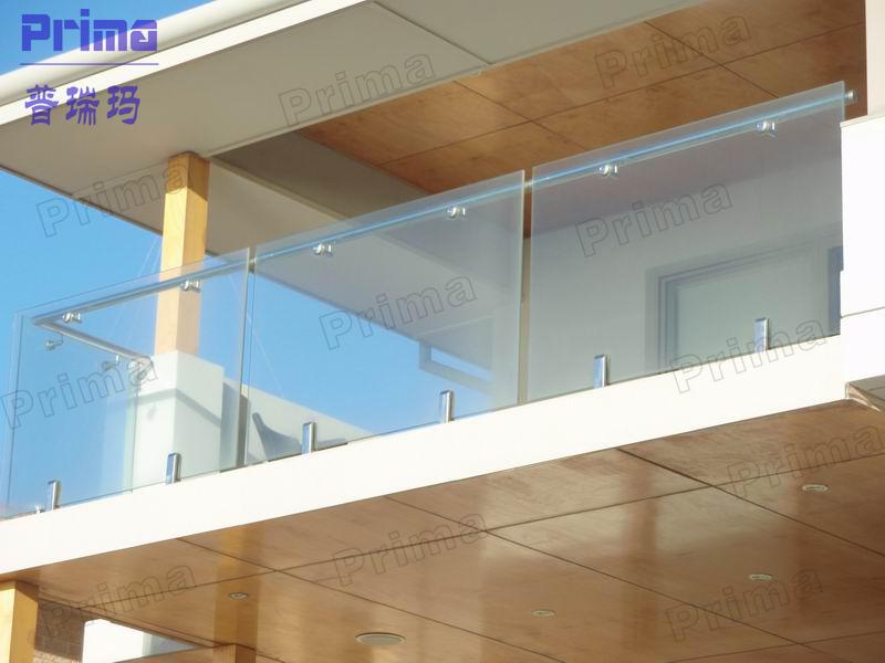 Selling Safety 316 S S Spigot Frameless Glass Balustrade