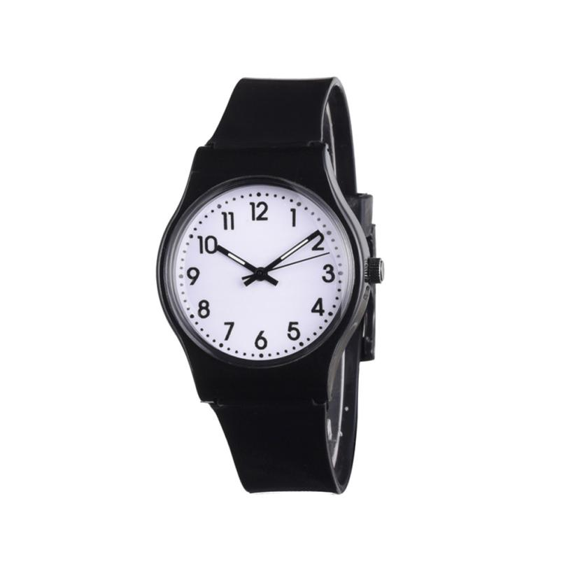Women Watches Silicone Casual Fashion Women's Silicon Band Digital Dial Analog Quartz Wristwatches Womens Clock Relojes Dec29