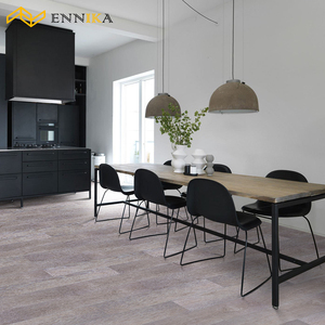 Non-slip fire proof interlocking floor tiles/ laminate vinyl flooring