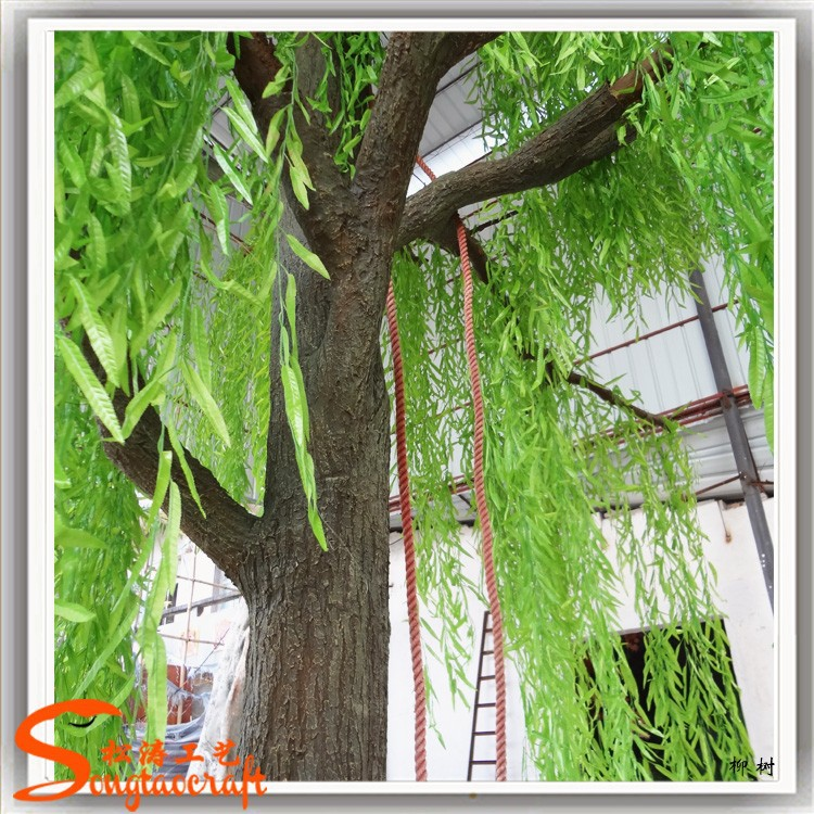 Hot novos produtos personalize artificial weeping willow tree barato artificial salgueiro venda