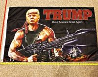 High quality Donald Trump USA American 3x5 Flag for President 2020