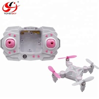 New & hot children play game Toys Long playing time deformable stunt pocket selfie drone camera dorne with special design