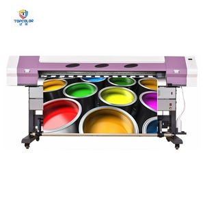 Low cost large format printing machine 1.8m roll to roll digital printer 6ft dx7 xp600 dx5 dgi flex printer all in one