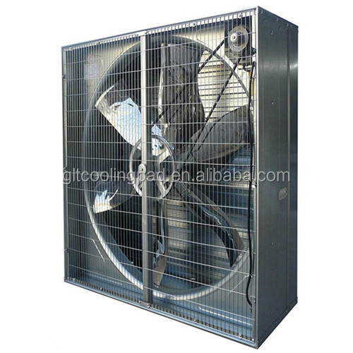 50 Inch Box Type Poultry Ventilation Exhaust Fan With Good Operation