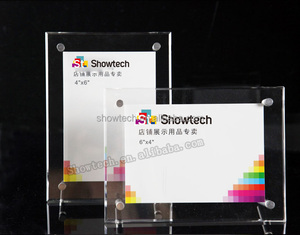 Latest design of different types plastic photo/Certificate Frame