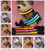 2017 Custom Nylon Light Pet Collar Safety Accessory Led dog collar