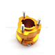 Mocell Good Quality Cheap Customized Aluminum Alloy Go Kart Spares Rear Wheel Hub With Color Anodized
