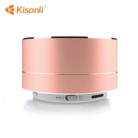 Amazon Best Selling Mini Colorful Portable Logo Round Custom Camera Wireless Speaker