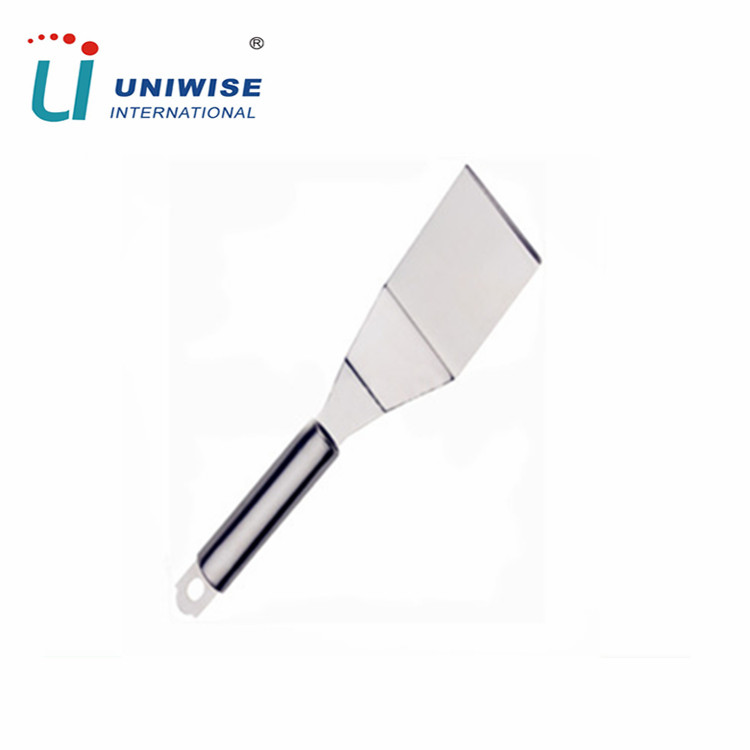 Stainless steel bbq tool bbq grill spatula food spatula for cooking , picnic and bbq