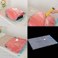 Large Space Saver Saving Storage Bag Vacuum Seal Compressed Organizer