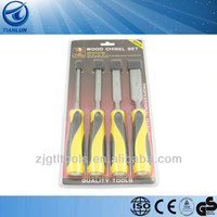 3 Pieces Carving Chisel Set With Blister Card