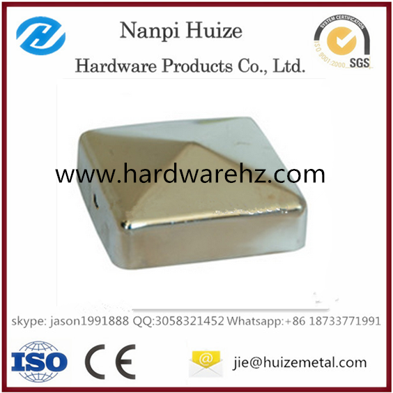 Stainless Steel Handrail Post Cap