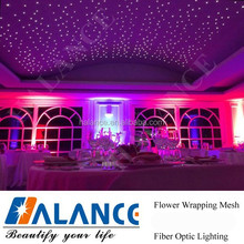 Optical Fiber Light Wedding Event Decorations starry decoration