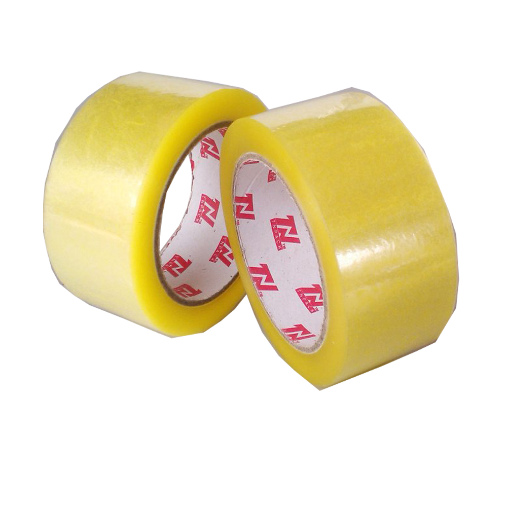 Super clear adhesive circle bopp tape manufacturer/ packing tape / opp tape