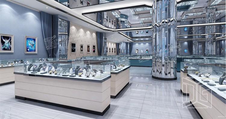 New modern luxury jewellery showroom interior designs buy jewellery showroom designs jewellery for Modern showroom exterior design