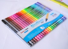 Promotional Colored Non Toxic Felt Tip Water Color Pen,Fineliner Pen/rollber pen