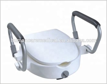 Awe Inspiring Locking Raised Toilet Seat With Arms Buy Toilet Seat Commode Parts Walker Part Product On Alibaba Com Theyellowbook Wood Chair Design Ideas Theyellowbookinfo
