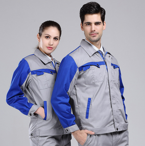 100% Cotton/CVC/TC Hot Sale mix Color factory worker Industrial Uniform Workwear Uniforms