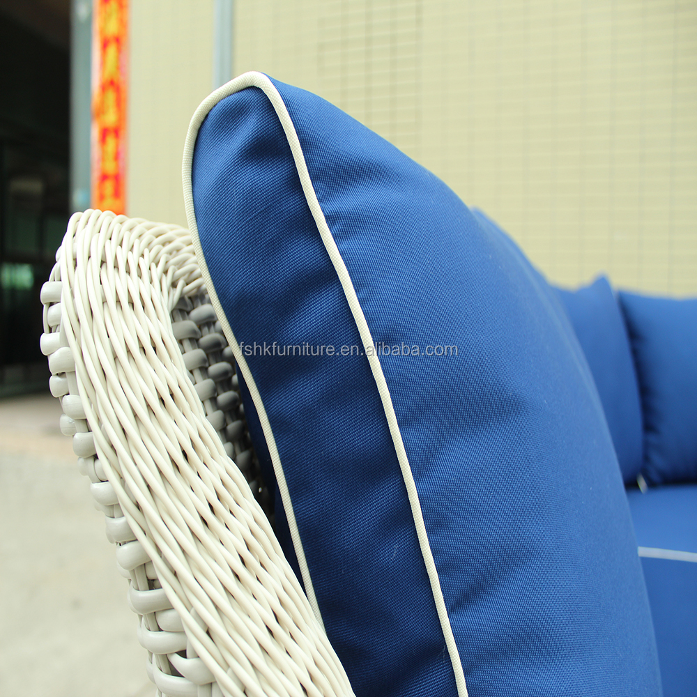 now product high quality outdoor rattan sectional sofa sets
