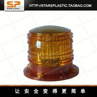 Factory manufacturing solar traffic warning light