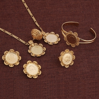 18k Carat Gold Plated Italian Gold Jewelry Sets Buy Gold Jewelry