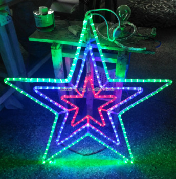 star shape led christmas lights