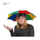 high quality 30cm*8k customized no handle small head hat umbrella