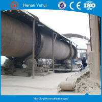 Ore benefication use Rotary kiln machines with high efficient