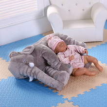 Soft Baby Elephant Plush Toy Elephant Baby Pillow