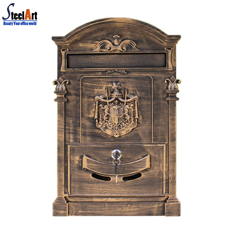 Apartments Outdoor Cast Iron Mailboxes For Houses - Buy Mailboxes For  Houses,Outdoor Mailboxes For Apartments,Cast Iron Mailboxes Product on ...