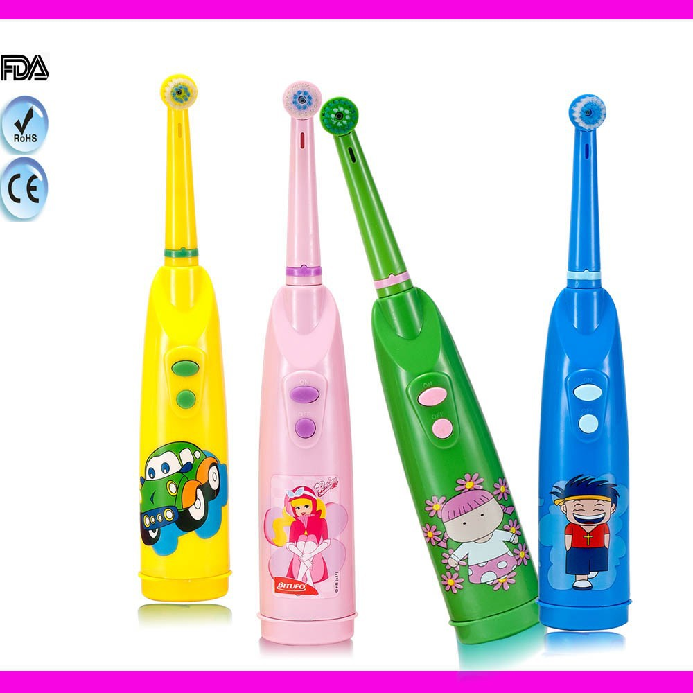 kids toothbrush child toothbrush with cartoon design
