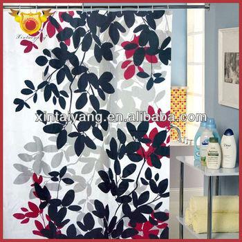 Painting Design Polyester Walmart Bathroom Shower Curtains