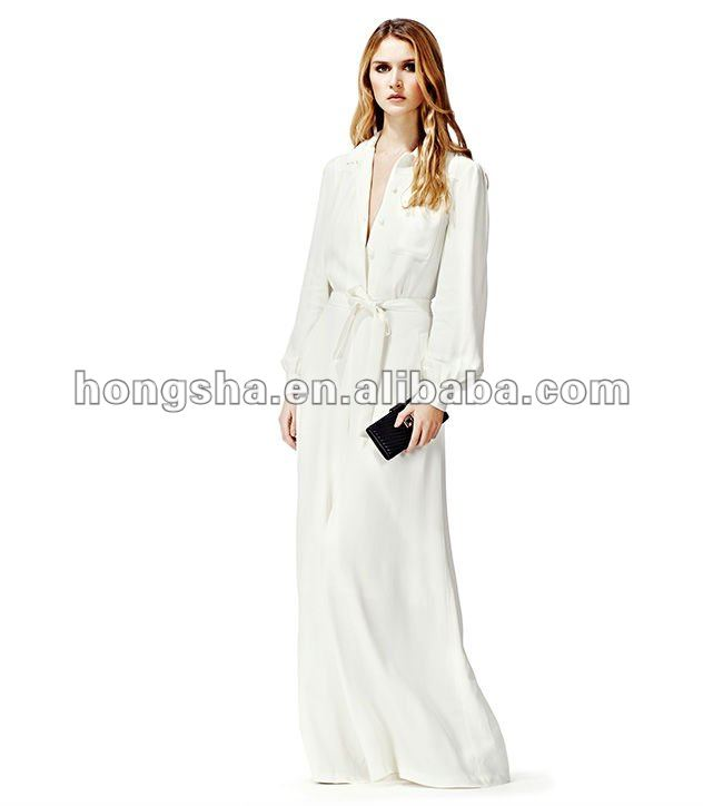 f3e0a099d Wide Leg Long Sleeve Jumpsuit Cream Hgs297 - Buy Sexy Jumpsuits ...