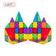 MNTL 35 PCS 2019 Hot Magnetic Toy for kids Magnet Building Geometric Shapes Toy
