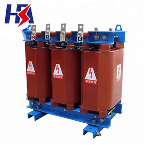 10.5kv/0.4 Epoxy resin resin insulation dry-type power transformer for SCZ(B)9 on-load series 630 kva transformer
