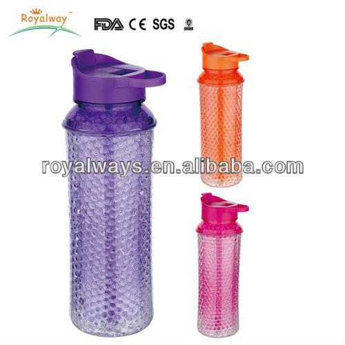 9d585e2f9d SubZero Double Wall Tritan Freezer Gel Bottle com Source · Best seller  600ml Double wall Beaded Freezer Gel Tritan sport water bottle
