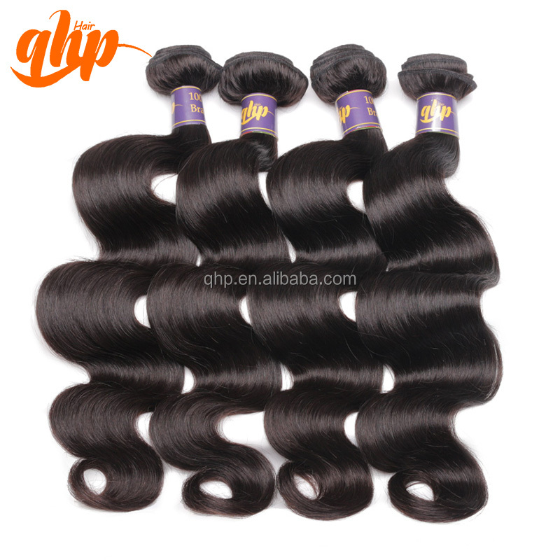 chinese 100% raw unprocessed brazilian body wave virgin hair weave vendors