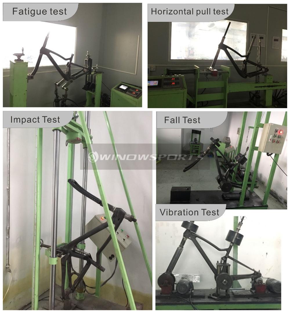 Winow Carbon Mountain Bike XC 29er Full Suspension Chinese MTB Frameset High quality 29er MTB