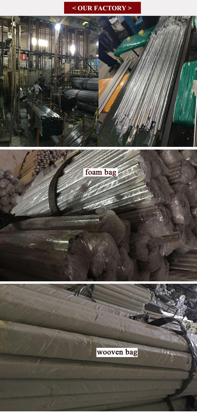 Meubels Pipes Fitting 16mm 19mm 25mm Diameter Garderobe Buizen Houder Kast Staaf Flenzen Chrome Staal Pijp Ronde buis Flens