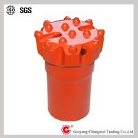 152 mm T51 button bit mining thread atlas copco rock drill bit for drilling